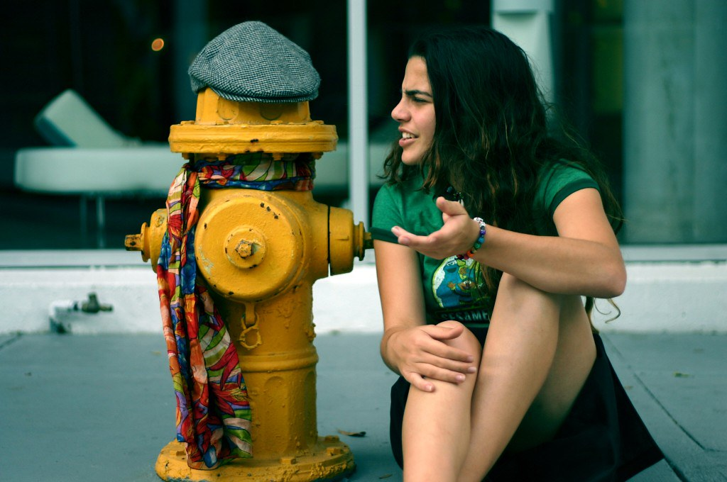 When a fire hydrant speaks to you, what kind of an accent does it have?