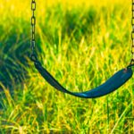 What is the purpose of a swing, if not for children?