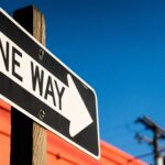 """A sign says """"one way"""". According to whom?"""