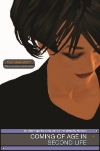Cover of Tom Boellstorff's Coming of Age in Second Life